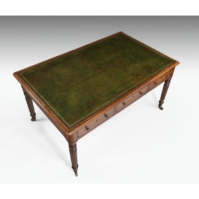 Late 18th Century A George III Writing Table, Circa 1810 For Sale - Image 5 of 6