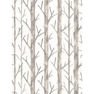 Scalamandre Everettl Wallpaper, Almond, 8 Yards