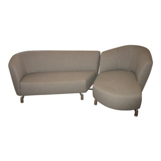1 Leolux Mid-Century Sectional Sofa For Sale