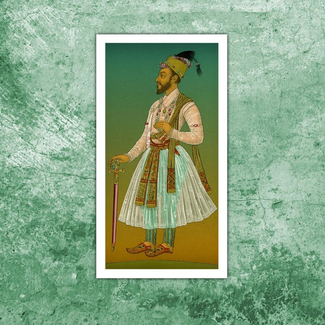 Antique 'Mughal 1' Archival Print - Image 2 of 3
