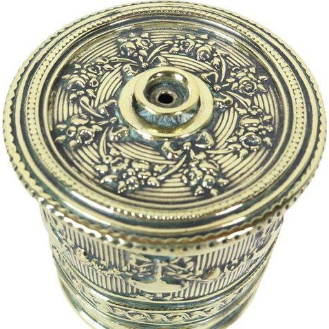 English English Polished Brass String Holder For Sale - Image 3 of 5