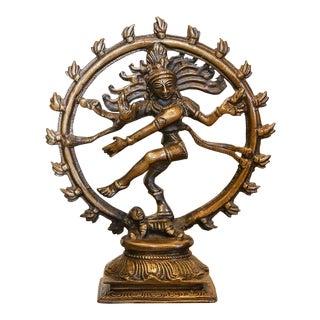 Small Brass Nataraja Statue For Sale