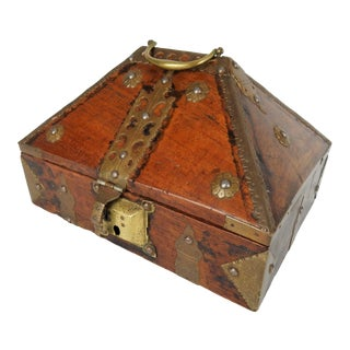 Antique Kerala Indian Jewelry Box For Sale