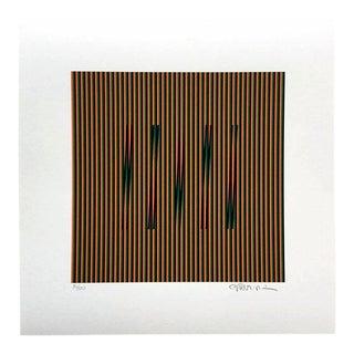 """Contemporary Carlos Cruz-Diez """"Color Aditivo Plaza"""" Limited Edition Print"""