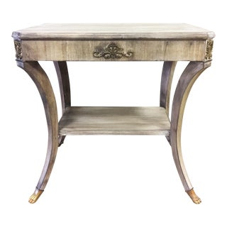 John Widdicomb Regency Side Table