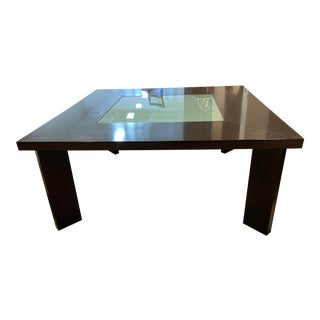 Creative Elegance Square Table + Glass Insert For Sale