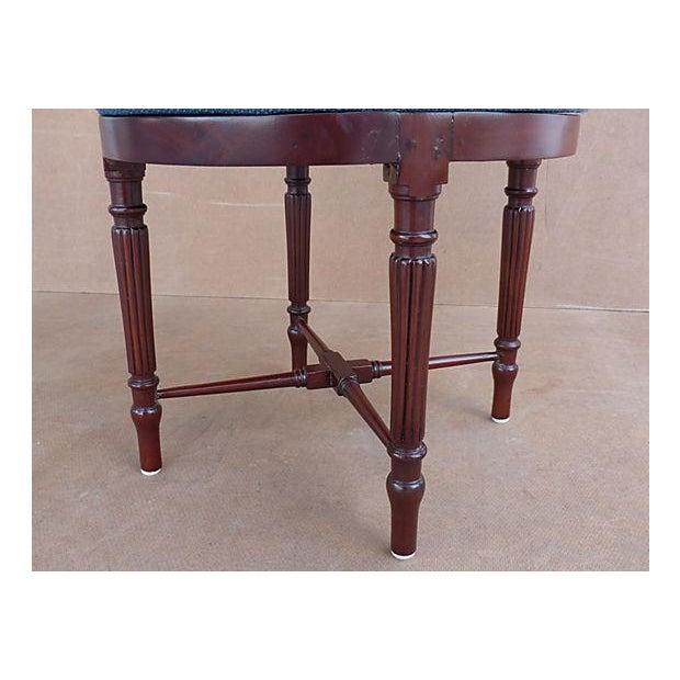 Neoclassical Swivel Vanity Chair - Image 6 of 8