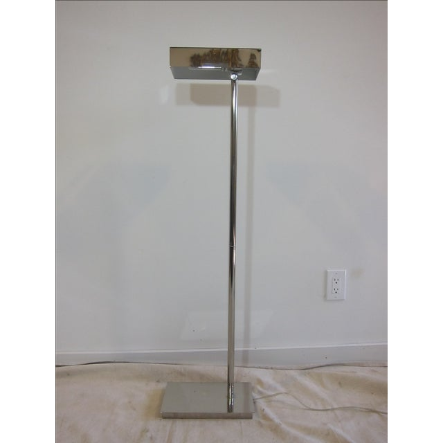 Chrome Articulating Floor Lamp - Image 3 of 7