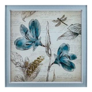 Fleur Wall Art Pieces - Set of 4 For Sale