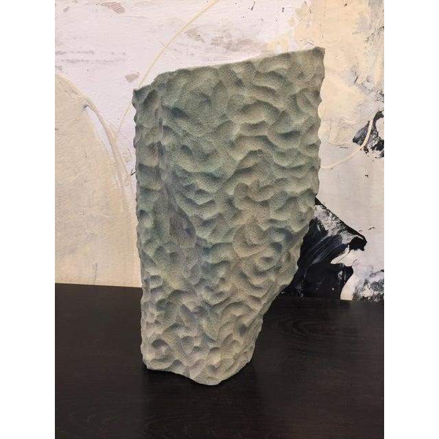 Steven Haulenbeek Resin Bonded Sand Vessel #49 For Sale - Image 4 of 7