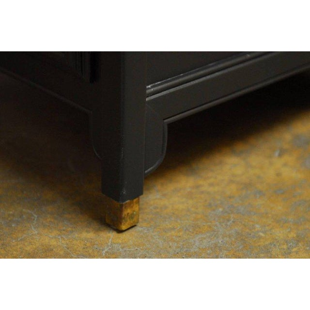 James Mont Style Century Furniture Lacquer Nightstands - a Pair For Sale - Image 10 of 10