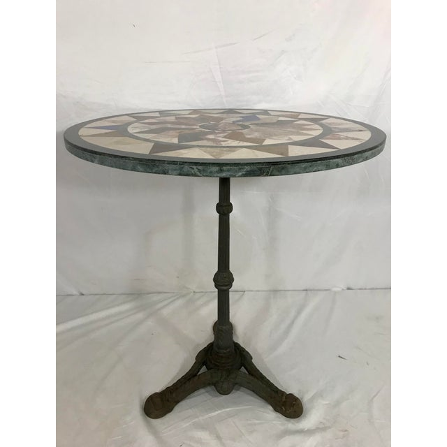 Early 20th Century French Antique Bistro Table For Sale - Image 5 of 7