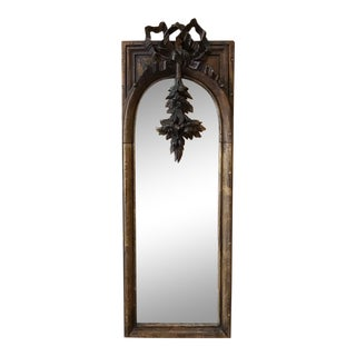 19th Century French Louis XVI Mirror For Sale