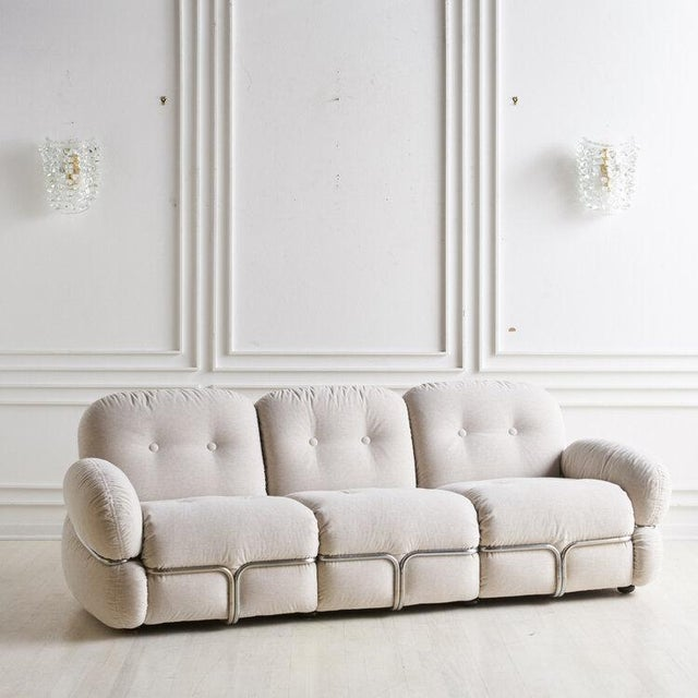 """""""Okay"""" Sofa by Adriano Piazzesi, Italy 1970s For Sale - Image 10 of 10"""