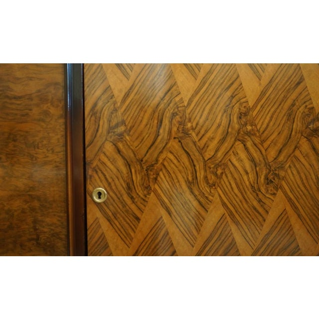 French 1940s Vintage French Marquetry Sideboard For Sale - Image 3 of 3