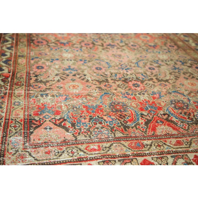 "Antique Hamadan Rug Runner - 4' X 8'10"" - Image 5 of 10"