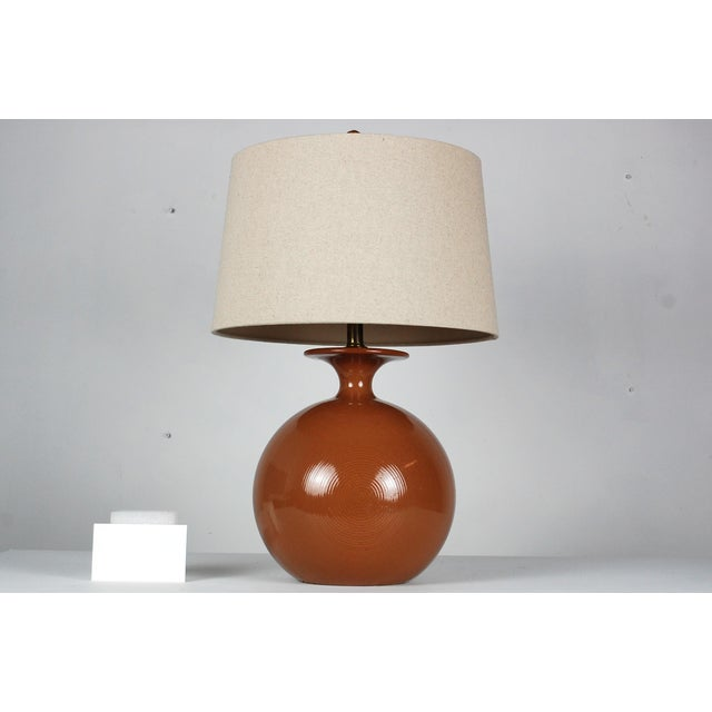Mid-Century Modern Pottery Table Lamp - Image 7 of 7
