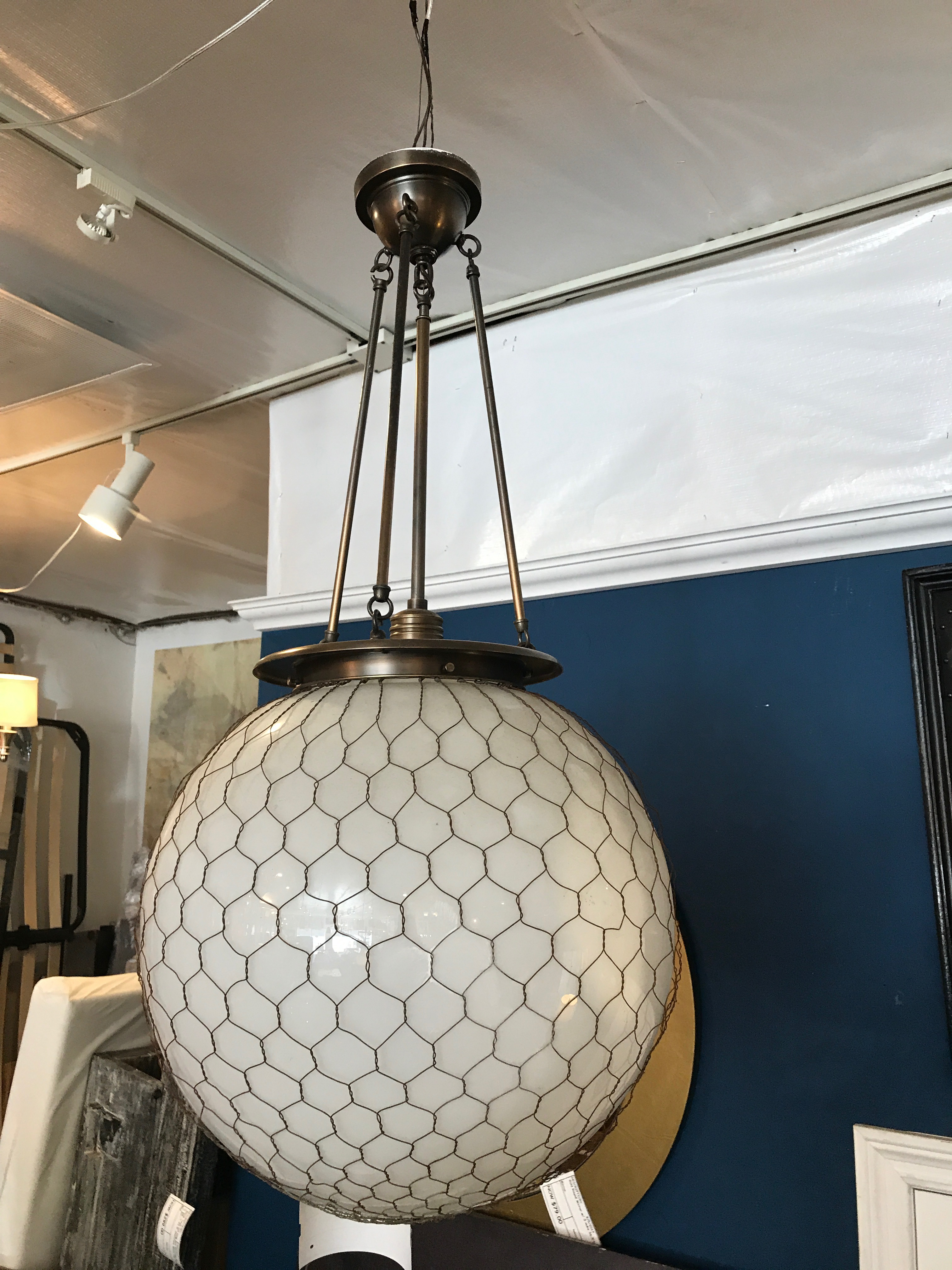 Wire Mesh Ball Pendant Light - Trusted Wiring Diagram