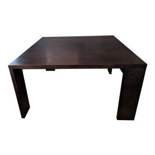 Minimalist B & B Italia Alceo Wenge Dining Table For Sale