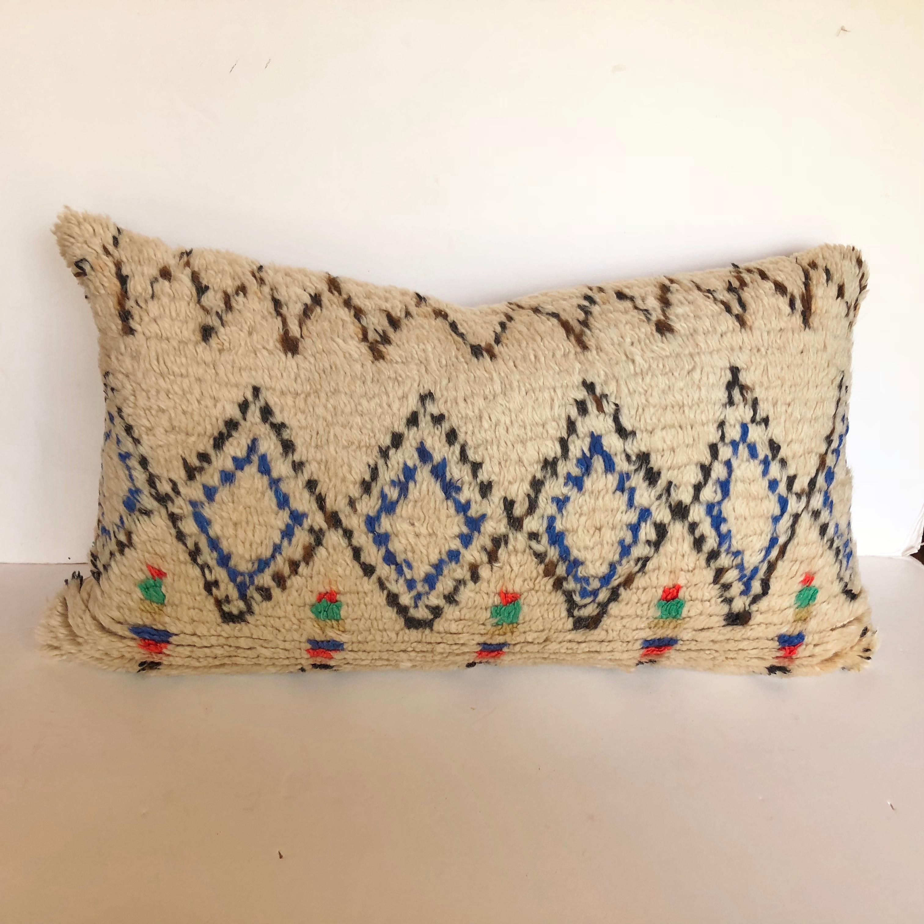 Vintage Moroccan Azilal pillow 90*35 cm