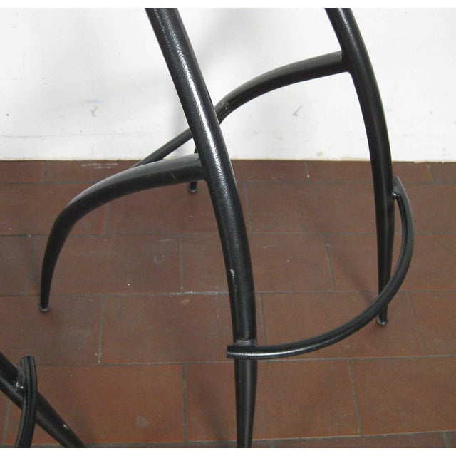 Postmodern Italian Bar Stools- Set of 5 For Sale - Image 9 of 10