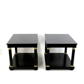 Handsome Pair of Empire Style Side Tables Preview