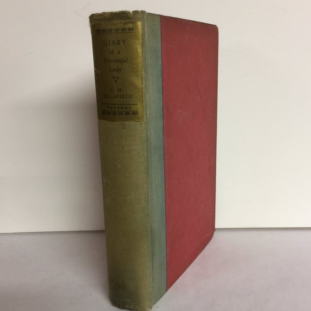 "Traditional E. M. Delafield ""Diary of a Provincial Lady"" 1931 Book For Sale - Image 3 of 11"