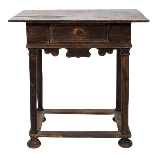 Early 19th Century Gothic Revival Style Pine Table For Sale