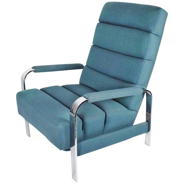 Milo Baughman recliner - Image 1 of 8