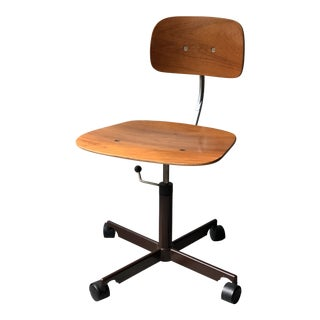 Vintage Danish Office Chair by Jorgen Rasmussen for Kevi For Sale