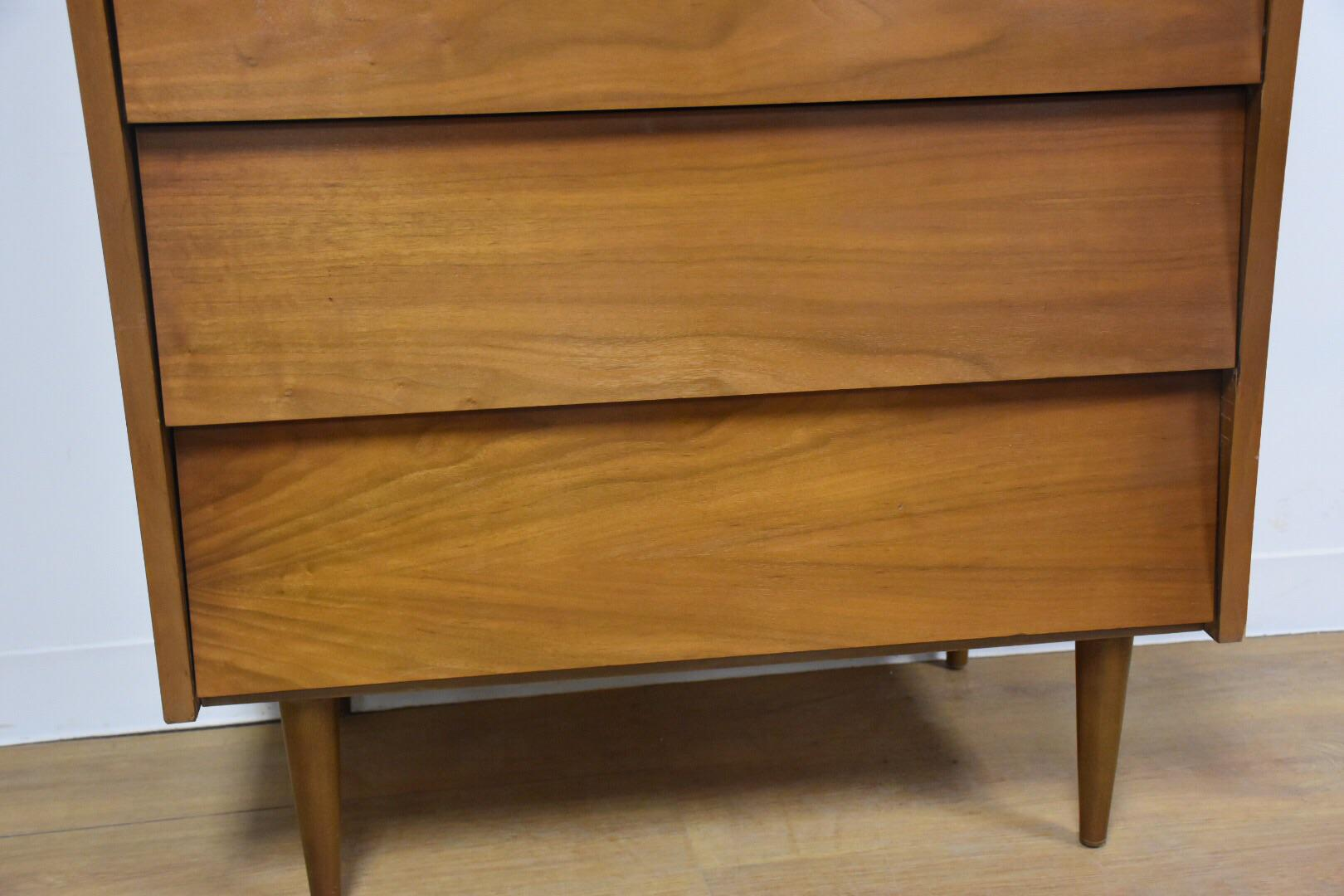 Harmony House Walnut And Formica Dresser   Image 6 Of 10