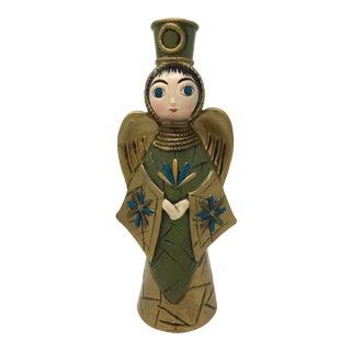 Mid-Century Modern Paper Mache Angel Figurine For Sale