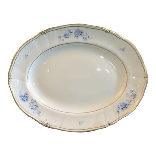 Ashbury Wedgwood Bone China Oval Serving Platter Made in England For Sale