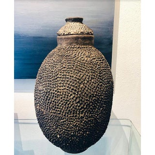 Prized Burkina Faso Lobi African Antique Tribal Storage Vessel Pottery Preview