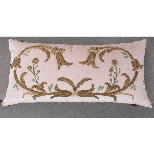 Antique Textile Pillow By B.Viz Designs - Image 3 of 7