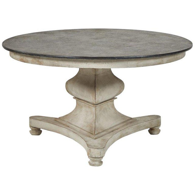 Late 19th Century Empire Painted Breakfast Table For Sale - Image 5 of 5