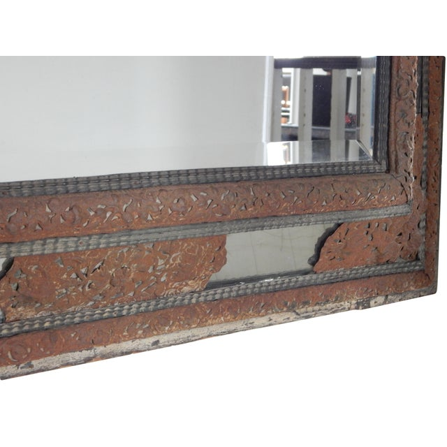 Glass 18th Century Dutch Baroque Mirror For Sale - Image 7 of 10