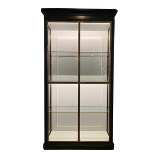 Fenwick Etagere Lighted Cabinet For Sale