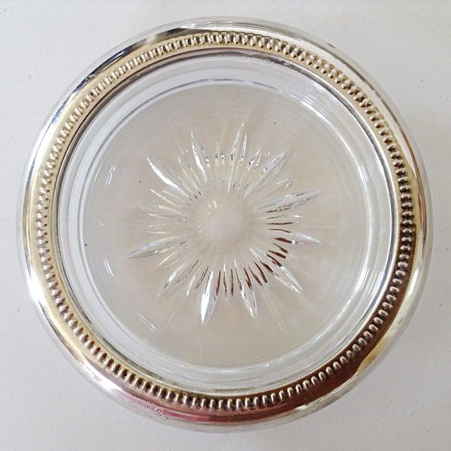 Italian Silver Plate Coasters - Set of 4 - Image 3 of 4