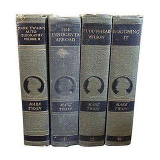 Vintage Set of Mark Twain Classics For Sale