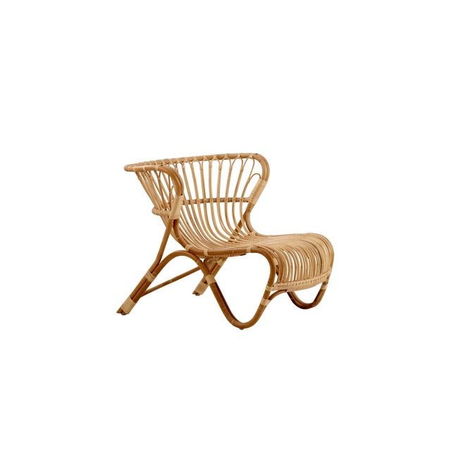 Viggo Boesen Fox Chair - Natural For Sale In Minneapolis - Image 6 of 6