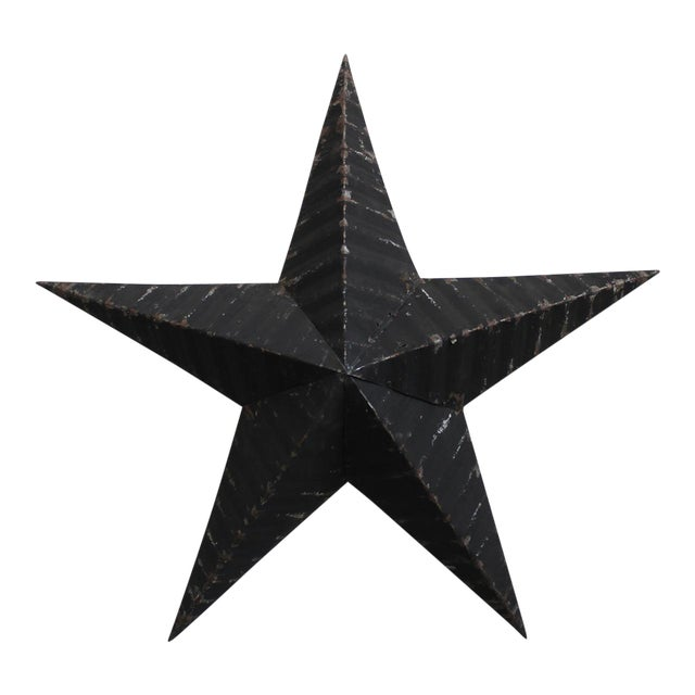 Vintage Painted Metal Star - Image 1 of 3