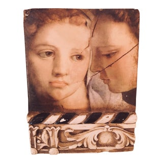 """Sid Dickens """"Two Sisters"""" Memory Block Tile For Sale"""