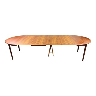 1950s Mid-Century Modern Henning Kjaernulf Dining Table For Sale