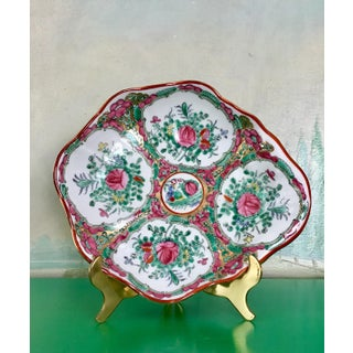 Rose Medallion Porcelain Shell Bowl Catchall Preview