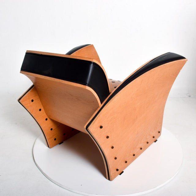 1980s Ron Arad Contemporary Modern Fauteuil Crust Arm Chair For Sale - Image 5 of 11