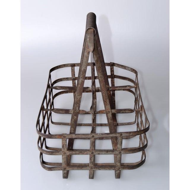 Vintage Metal Bottle Carrier - Image 4 of 9