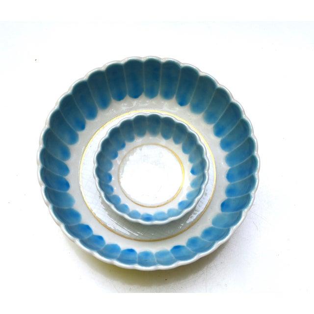 1950s Turquoise Nesting Bowls - Set of 2 - Image 2 of 5