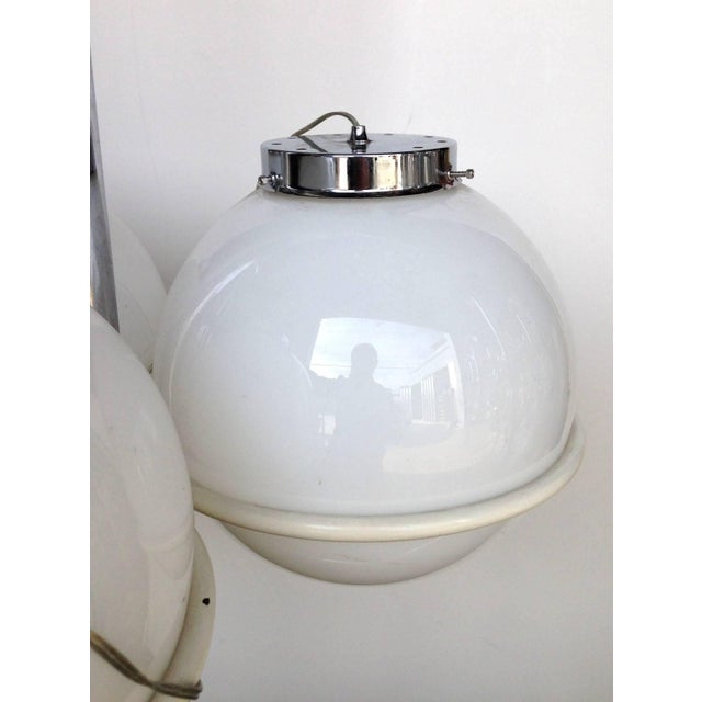 Globes Pendant by Sarfatti For Sale - Image 10 of 12