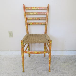 Mid Century Gio Ponti Style Italian Side Chair Preview
